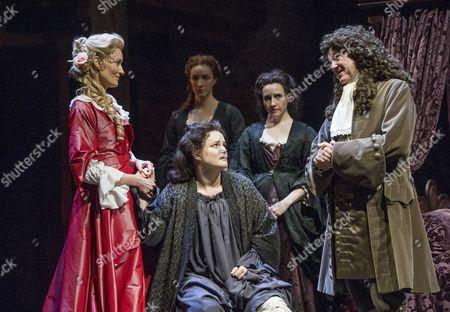 Natascha McElhone as Sarah Churchill, Emma Cunniffe as Queen Anne, Daisy Ashford as Lady Clarenedon, Michael Fenton Stevens as Dr John Radcliffe