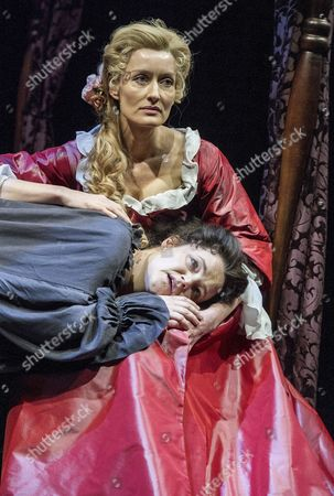 Editorial image of 'Queen Anne' Play by Helen Edmundson performed at the Swan Theatre, Royal Shakespeare Company, Stratford-upon-Avon, UK, 25 Nov 2015