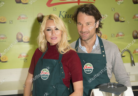 Carolina Cerezuela and Carlos Moya