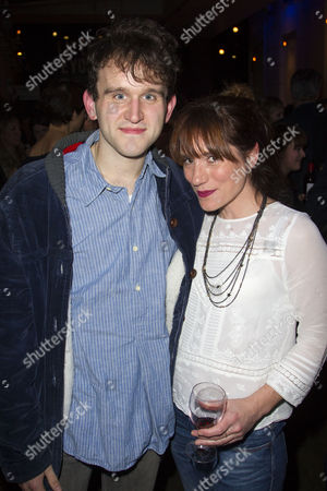 Harry Melling and Charlotte Randle