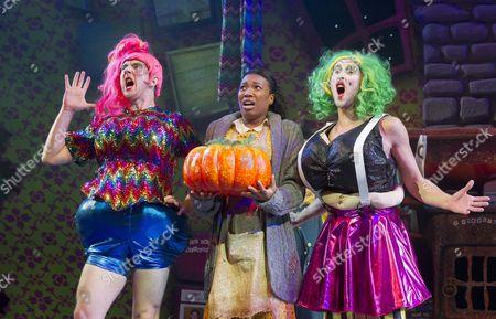 Matt Sutton as Booty, Krystal Dockery as Cinderella,  Peter Caulfield as Licious
