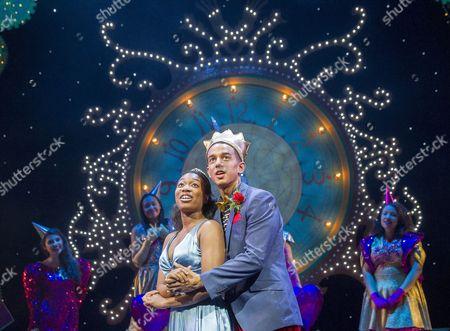 Krystal Dockery as Cinderella,  Karl Queensborough as Prince Charming