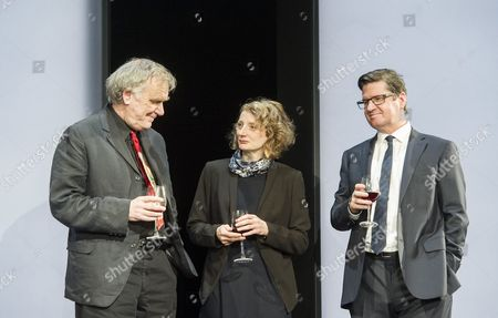 Editorial photo of 'Here We Go' Play by Caryl Churchill performed in the Lyttelton Theatre at the Royal National Theatre, London, UK, 26 Nov 2015