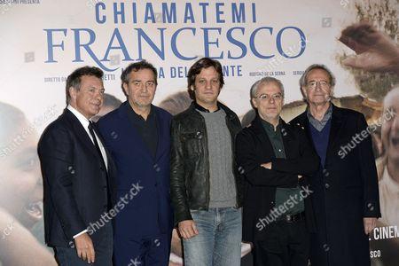 Alessandro Salem, Pietro Valsecchi, Daniele Luchetti and cast Rodrigo de la Serna, Sergio Hernandez