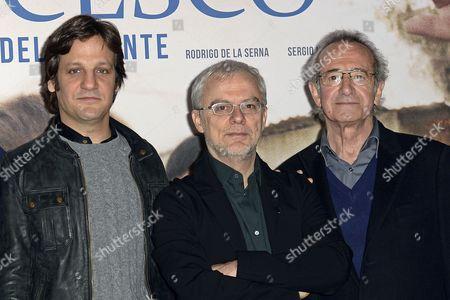 Rodrigo de la Serna, Daniele Luchetti, Sergio Hernandez