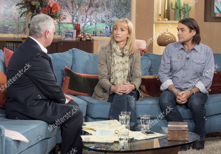 Stock Picture of Eamonn Holmes with Michaela Strachan and Ian Michler