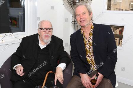 Sir Peter Blake and Chris Jagger