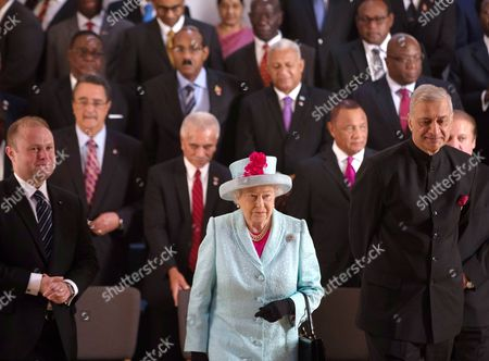 Editorial picture of CHOGM Commonwealth Heads of Government Meeting, Malta - 27 Nov 2015