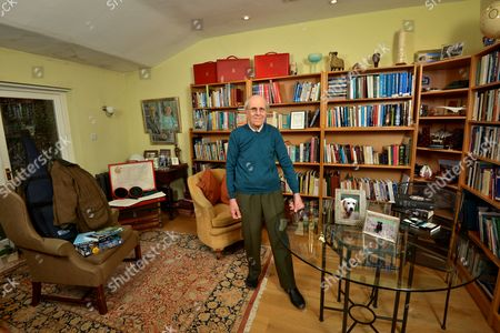 Editorial picture of Norman Tebbit photoshoot, Suffolk, Britain - 04 Dec 2014