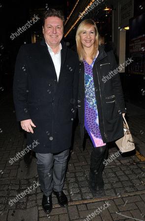 Stock Photo of Rod Barker & Tania Bryer