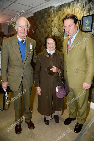 Lord and Lady Marchwood with Jo Thornton