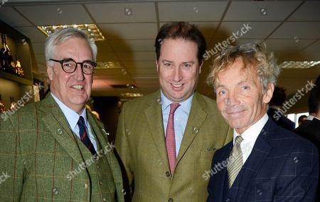 Maurice-Richard Hennessy, Jo Thornton and John Francome