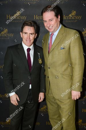 Rob Brydon and Jo Thornton