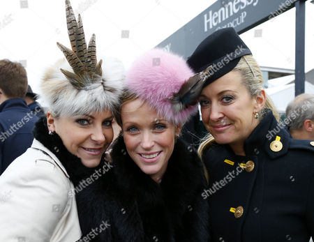Stock Photo of Chanelle McCoy with Lizzie Hughes and Emma Spencer Newbury