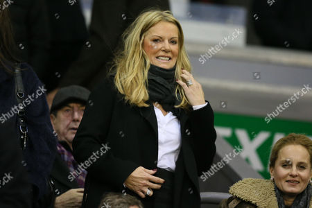 Jurgen Klopp's wife Ulla Sandrock during the Barclays Premier League match between Liverpool and Swansea City played at The Anfield Stadium on November 29th 2015