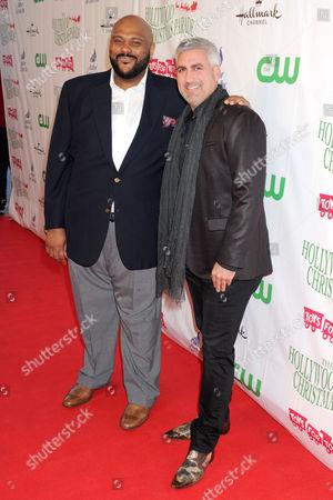 Ruben Studdard and Taylor Hicks