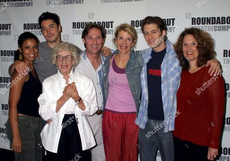 Stock Photo of Susan Kelechi Watson, James Yaegashi, Ann Guilbert, Richard Thomas, Jill Clayburgh, Matthew Morrison, Leslie Ayvazian