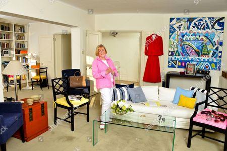 Stock Photo of Shirley Conran, British novelist and journalist