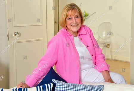 Editorial image of Shirley Conran photoshoot, London, Britain - 08 Oct 2014