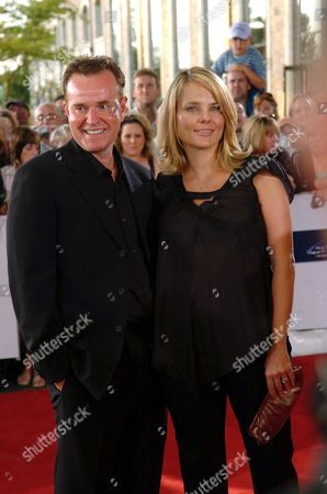 Steve Hytner with his wife