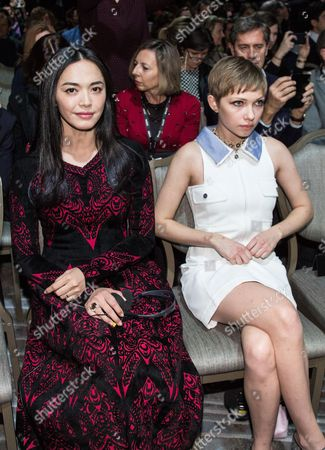 Yao Chen and Tavi Gevinson