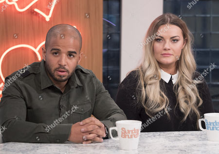Stock Picture of Andrew Shim and Chanel Cresswell