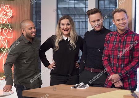 Editorial photo of 'Sunday Brunch' TV programme, London, Britain - 29 Nov 2015