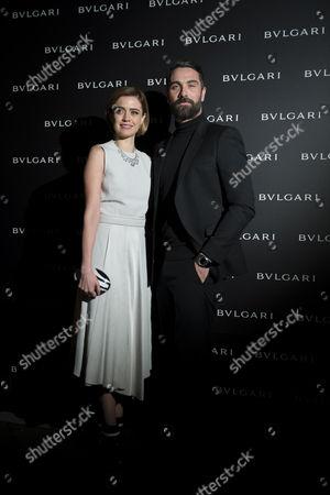 Luca Calvani (R), and Nathalie Rapti Gomez (L)