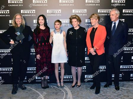 Annie Leibovitz, Yao Chen, Tavi Gevinson, Agnes Gund, Clare Balding, Marco Tronchetti
