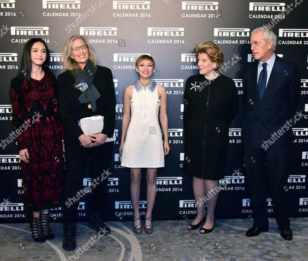 Yao Chen, Annie Leibovitz, Tavi Gevinson, Agnes Gund, Marco Tronchetti