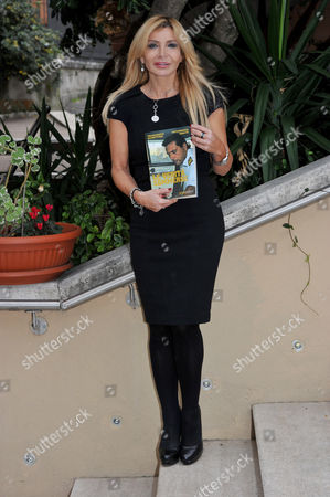 "Vittoriana Abate co-author attends the presentation in Rome of the Francesco Schettino book ""Le verita' sommerse"" (the submerged truth)"
