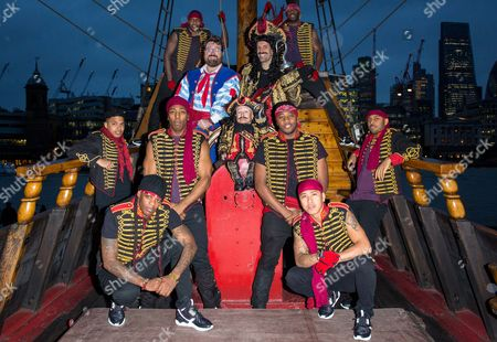 Editorial picture of Peter Pan Press Launch at Golden Hinde II, London, Britain  - 30 Nov 2015
