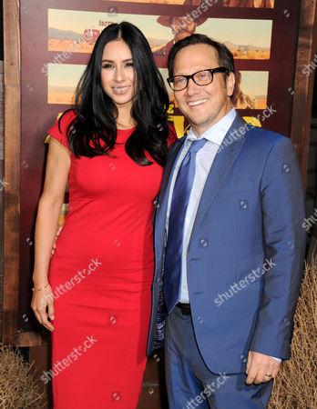 Rob Schneider and wife Patricia Maya Schneider