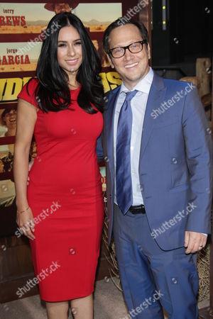 Rob Schneider and Patricia Maya Schneider