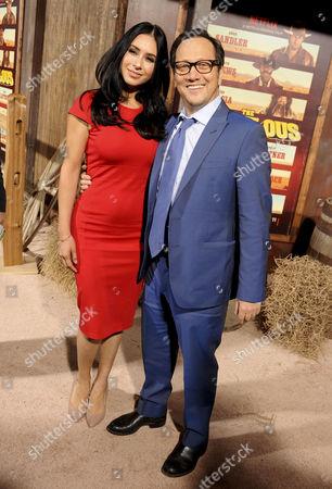 Rob Schneider & wife Patricia Maya Schneider