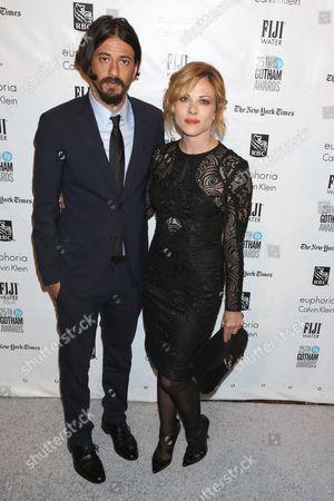 Stock Image of Josh Mond and Julie Mond