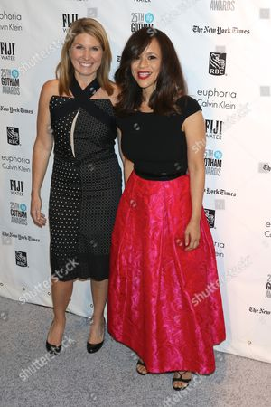 Nicolle Wallace and Rosie Perez