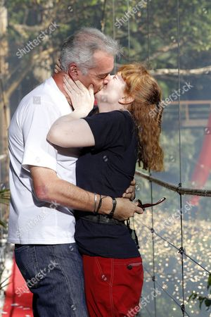 Yvette Fielding is voted out and is greeted by husband Karl Beattie