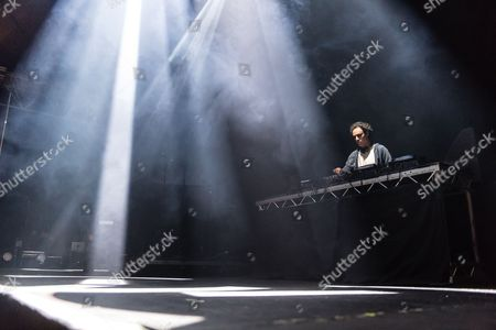 Editorial image of Four Tet in concert at Alexandra Palace, London, Britain - 27 Nov 2015
