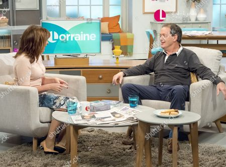 Lorraine Kelly and Kevin Whately