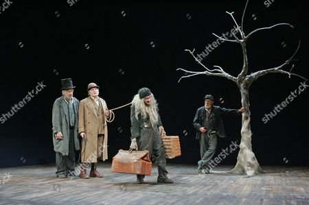 Editorial photo of 'WAITING FOR GODOT' PLAY AT THE THEATRE ROYAL, BATH, BRITAIN - AUG 2005