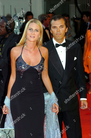 Isabella Borromeo with Ugo Brachetti Perretti at the opening ceremony after party