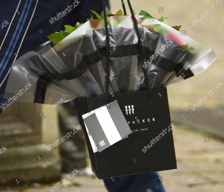 Flowers arrive for Deborah Feldman