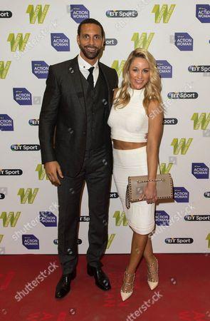 Rio Ferdinand and Caroline Pearce