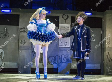 Carly Bawden as Alice,  Lois Chimimba as Aly,