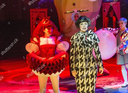 Carly Bawden as Alice,  Anna Francolini as Ms Manxome