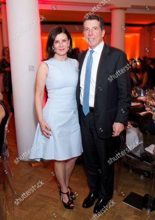 Jennifer Diamond and Bob Diamond