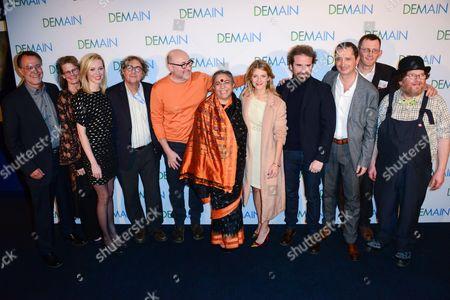 Fredrika Stahl, Emmanuel Druon, Vandana Shiva, Melanie Laurent, Cyril Dion and guests