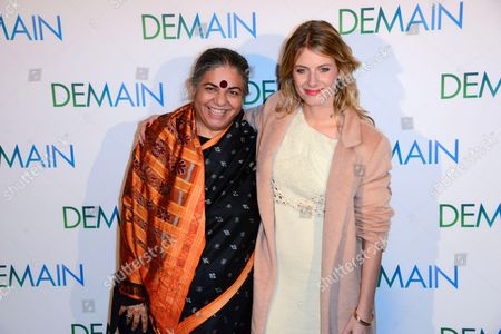 Vandana Shiva et Melanie Laurent