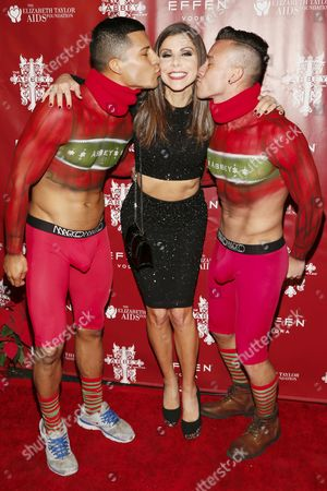 Stock Image of Heather Dubrow with guests
